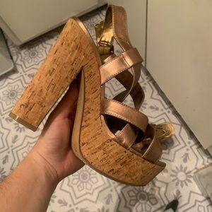 Vince camuto platform heeled sandals